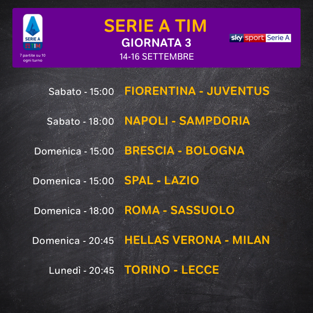 Calendario Partite Calcio Serie A.Sport In Diretta Streaming E Disdici Quando Vuoi Now Tv